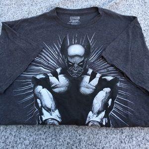 Marvel X-men Classic Comic Wolverine Men's T-Shirt